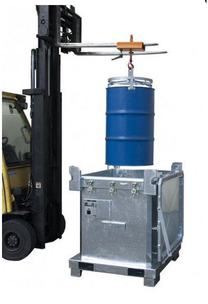 Container ermetic pentru deseuri toxice