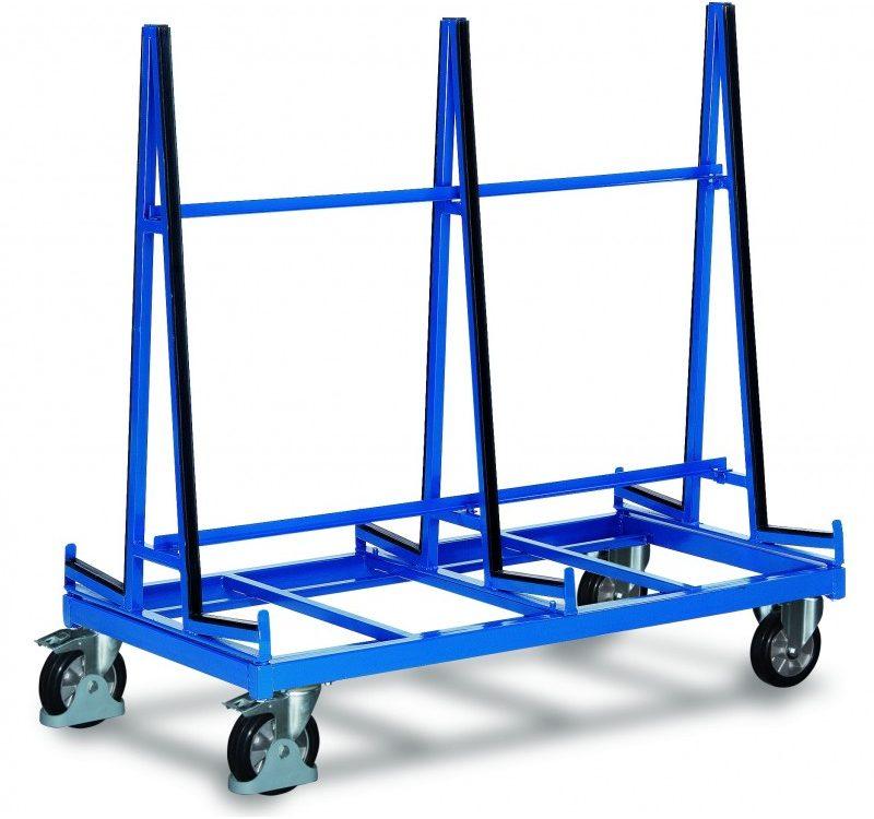 capra metalica pentru transport placi