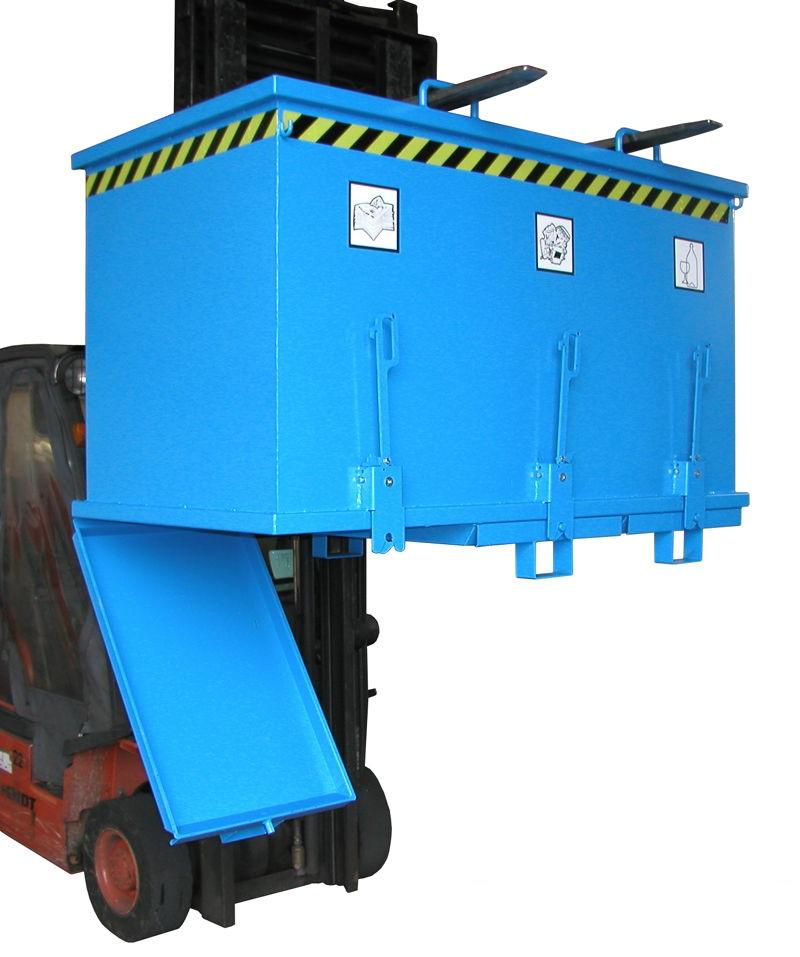 container metalic pentru colectare deseuri selective