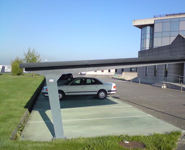 Copertina parcare insiruite