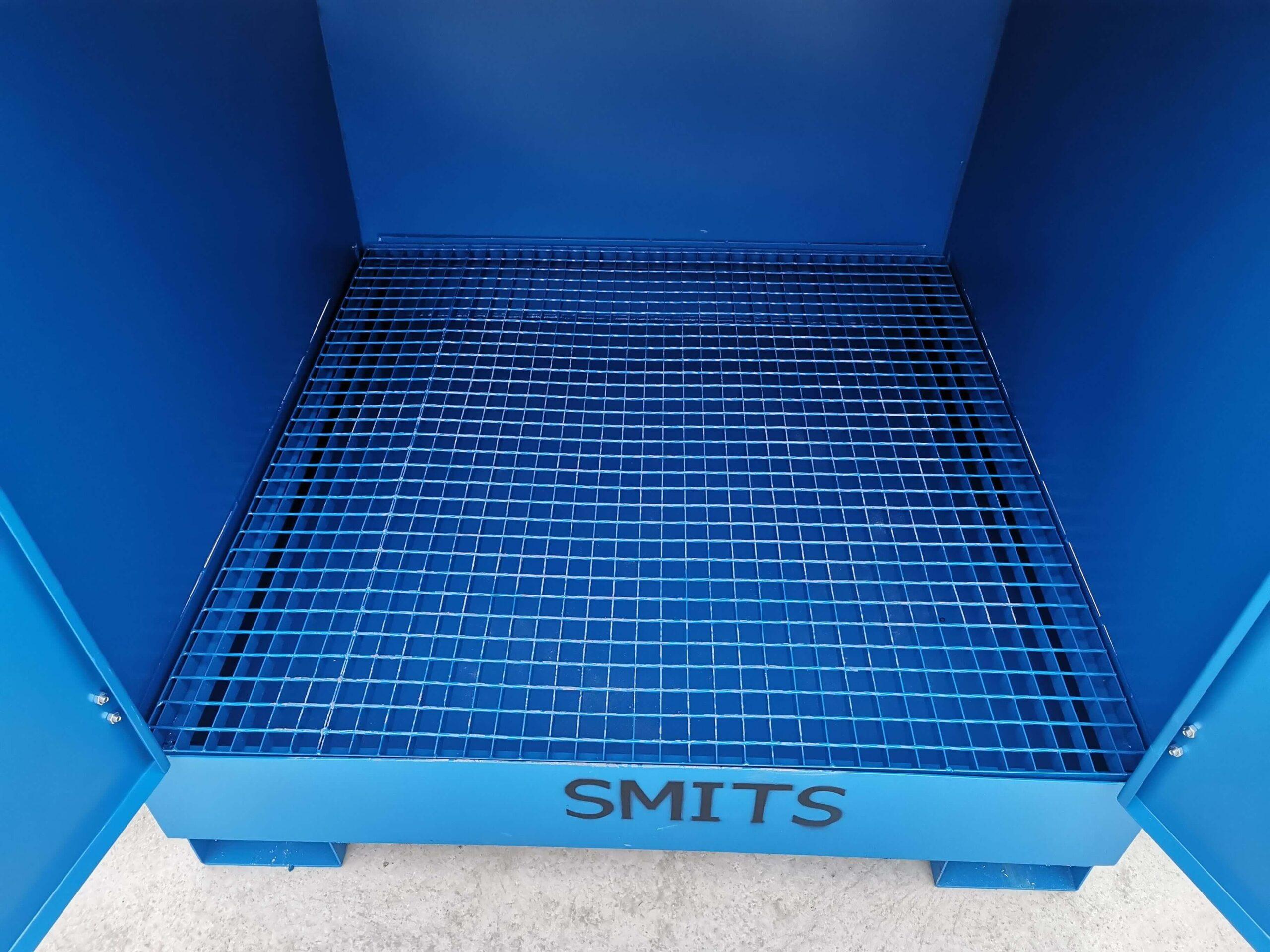 Container pentru stocare butoaie cu substante periculoase